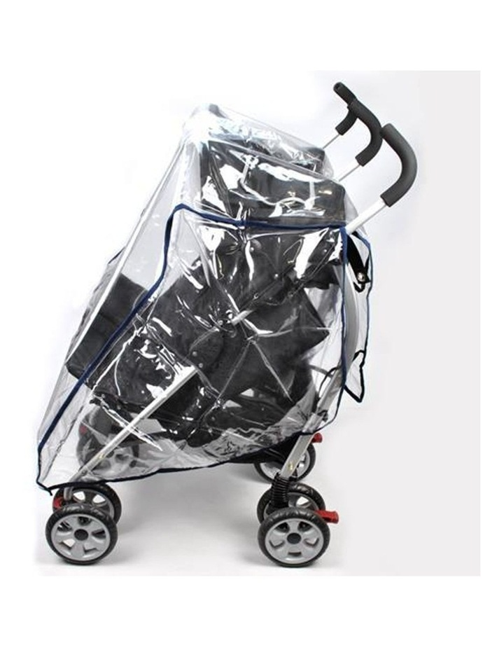 Rain Storm Cover - Side-By-Side Double Pram image 2
