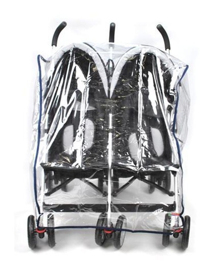 Rain Storm Cover - Side-By-Side Double Pram image 3