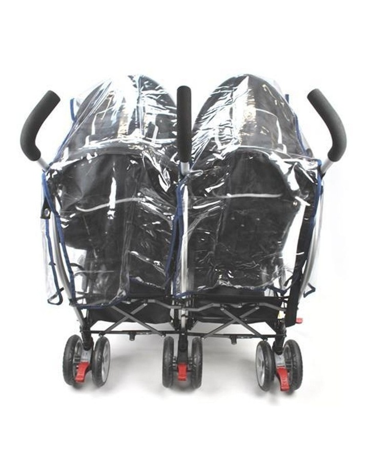 Rain Storm Cover - Side-By-Side Double Pram image 4