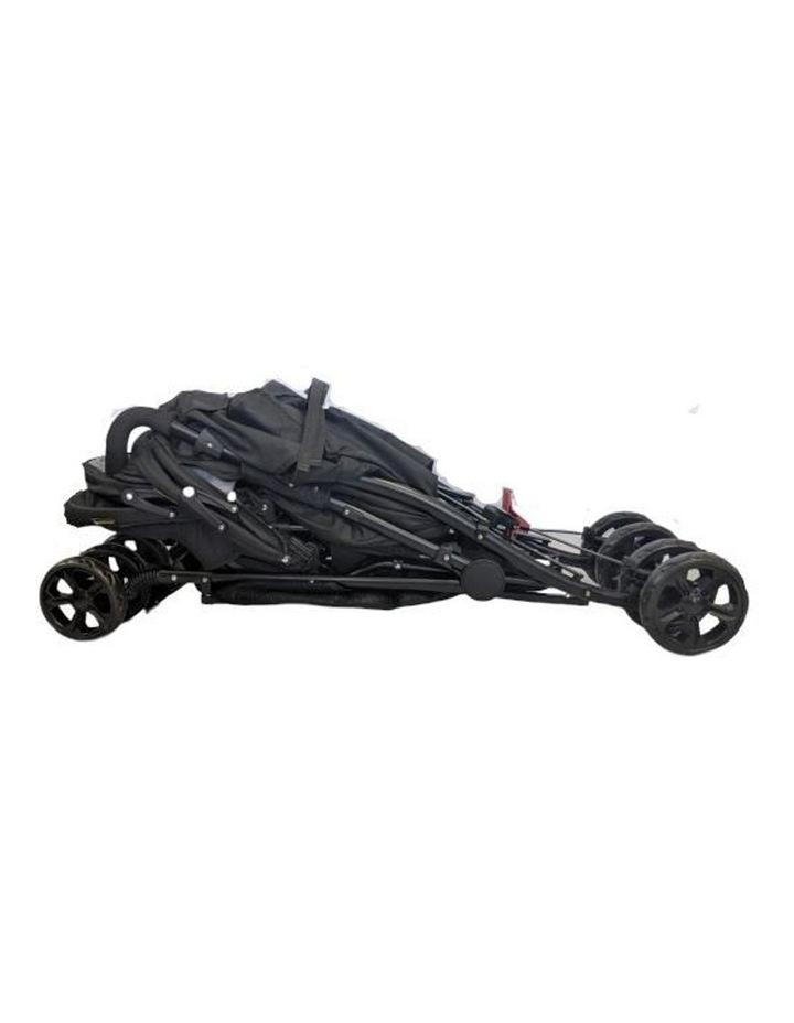 Aussie Baby Vitesse Deux Tandem Stroller - Black image 4