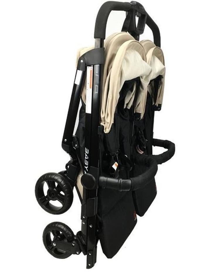 Baby Ace Libra Twin Stroller - Khahki image 3