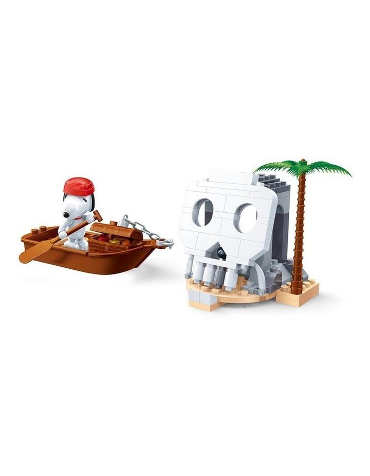 Peanuts - Snoopy Pirate Skull Island 7519 image 2