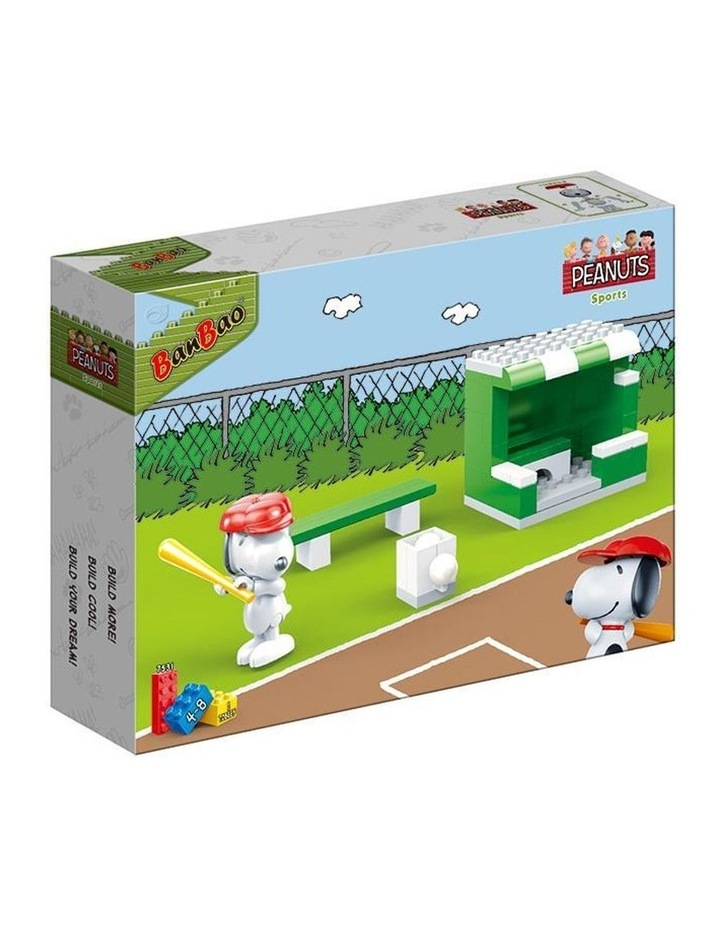 Peanuts - Snoopy Baseball Field 7531 image 1