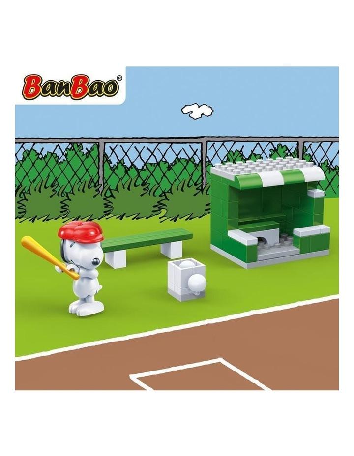 Peanuts - Snoopy Baseball Field 7531 image 3
