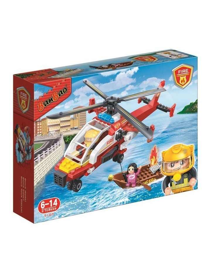 Fire and Rescue - Fire Air Rescue 7107 image 1