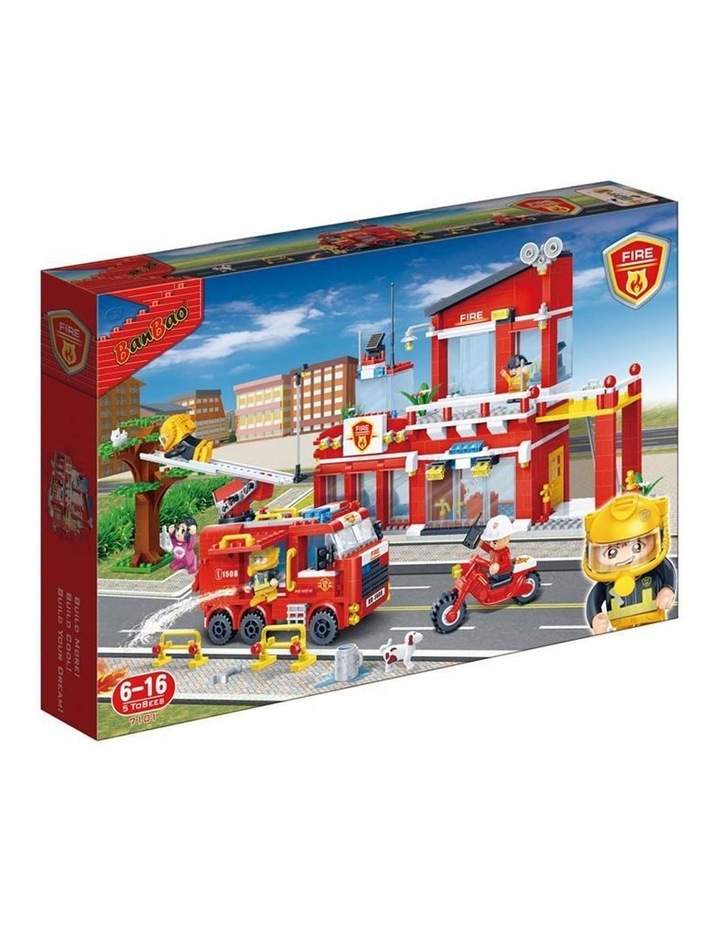 Fire and Rescue - Fire Central Station 7101 image 1