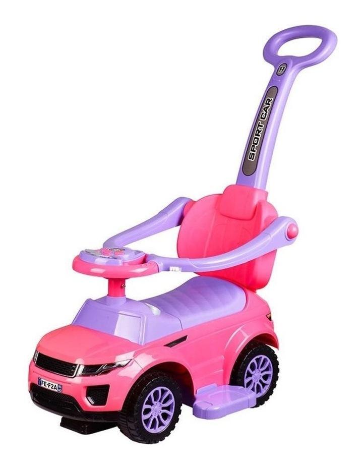 Range Rover-Inspired Kids Ride On Car - Pink image 1