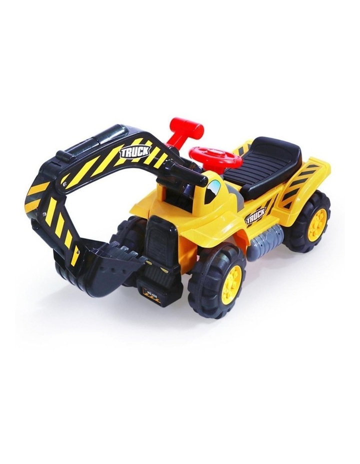 Kids Excavator Digger Ride-On Toy Truck image 1