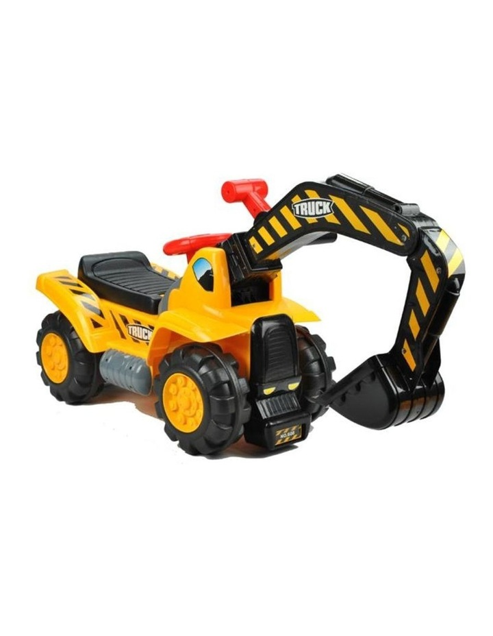 Kids Excavator Digger Ride-On Toy Truck image 2