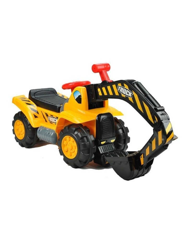 Kids Excavator Digger Ride-On Toy Truck image 3