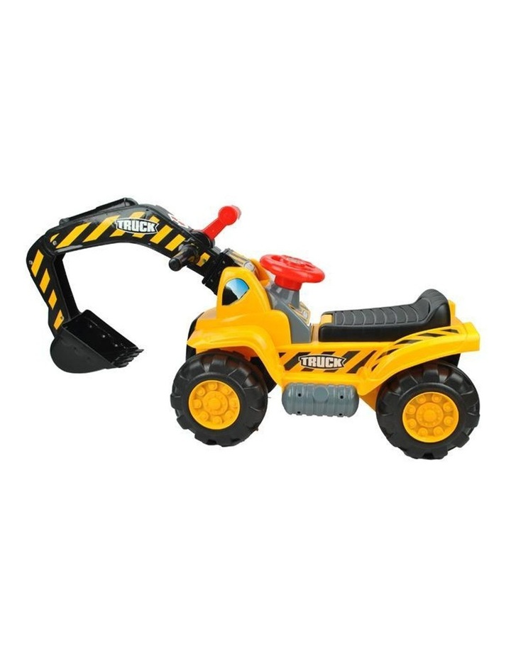Kids Excavator Digger Ride-On Toy Truck image 4