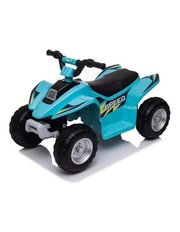 6V Kids Electric Ride On ATV Quad Bike 4 Wheeler Toy Car - Aqua image 1