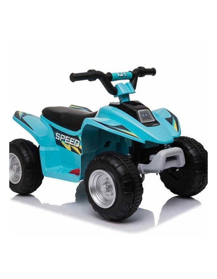 6V Kids Electric Ride On ATV Quad Bike 4 Wheeler Toy Car - Aqua image 2