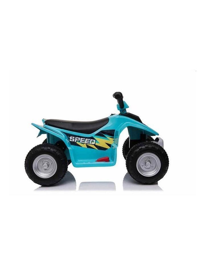 6V Kids Electric Ride On ATV Quad Bike 4 Wheeler Toy Car - Aqua image 4