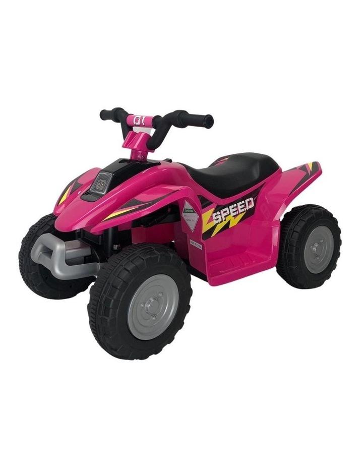 6V Kids Electric Ride On ATV Quad Bike 4 Wheeler Toy Car - Pink image 1