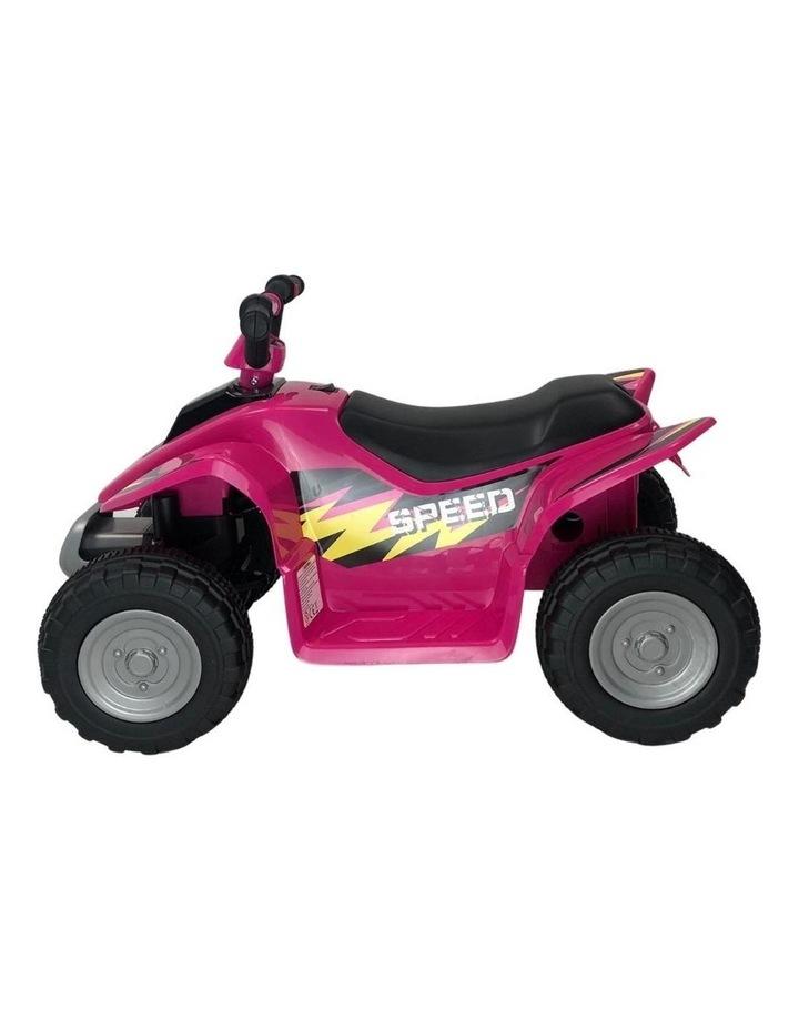 6V Kids Electric Ride On ATV Quad Bike 4 Wheeler Toy Car - Pink image 2