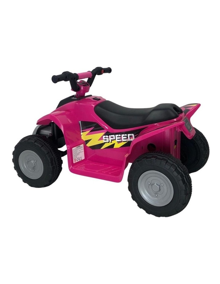 6V Kids Electric Ride On ATV Quad Bike 4 Wheeler Toy Car - Pink image 3