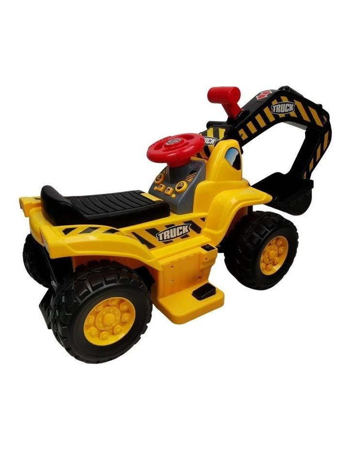 Kids Electric Ride on Car Digger Excavator image 2