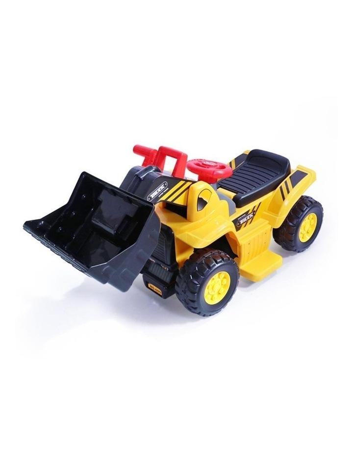 Kids Electric Ride on Car Digger Bulldozer image 1