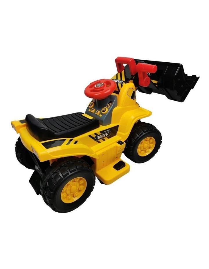 Kids Electric Ride on Car Digger Bulldozer image 2