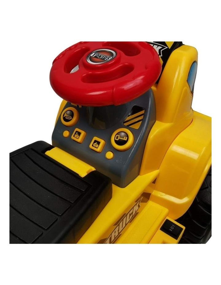 Kids Electric Ride on Car Digger Bulldozer image 3