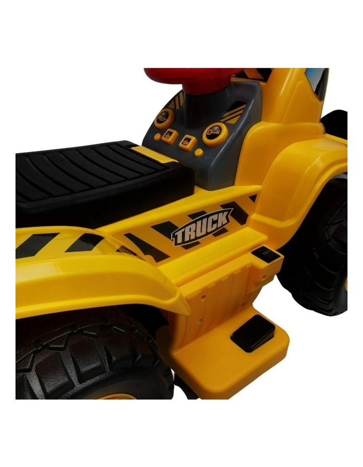Kids Electric Ride on Car Digger Bulldozer image 4