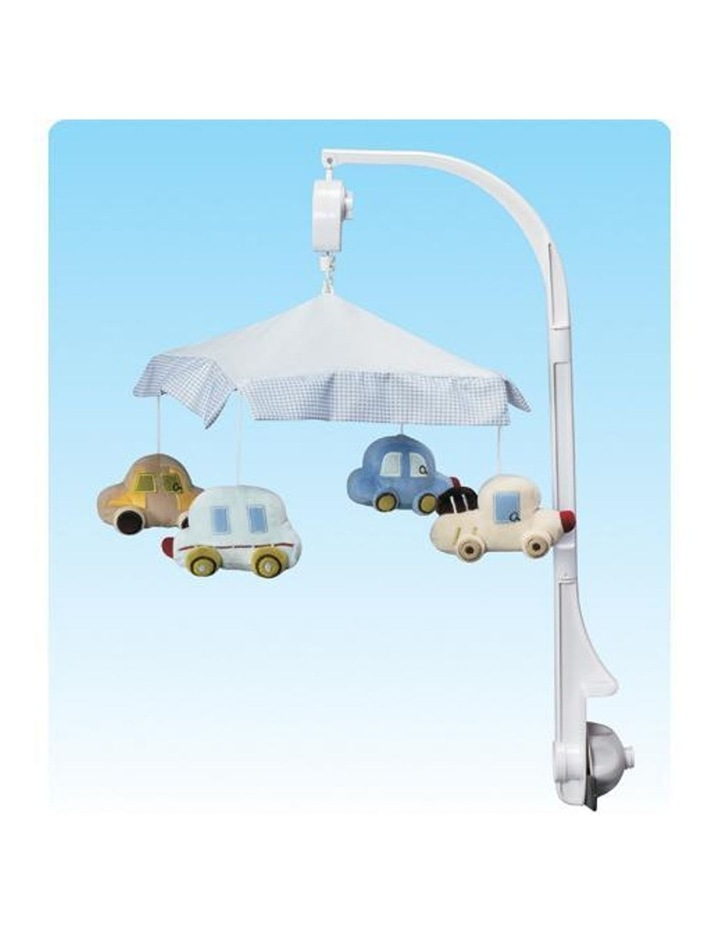 Musical Baby Cot Mobile - Cars Vehicle Themed image 2