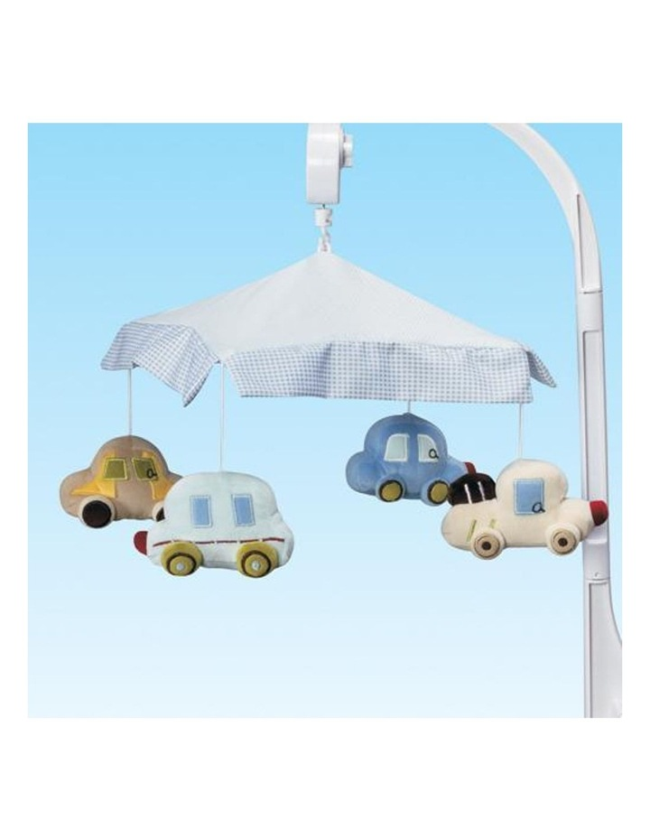 Musical Baby Cot Mobile - Cars Vehicle Themed image 3