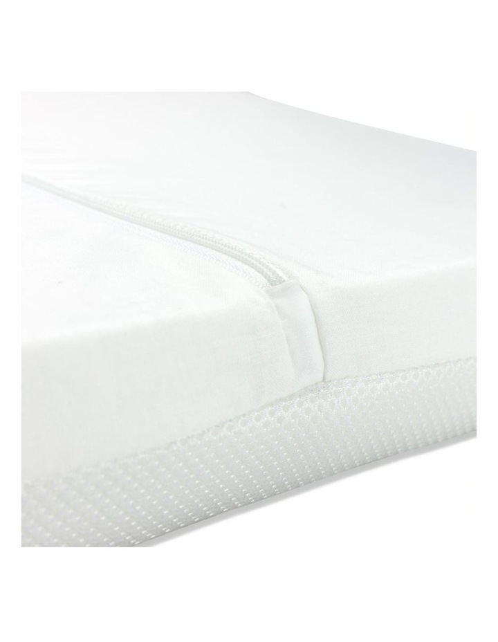 Bassinet Mattress - Ventilated. 720 x 340 x 75 mm / Tapered base image 2