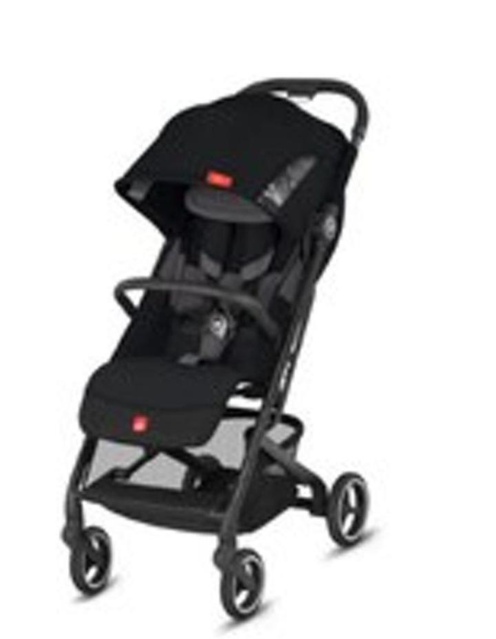 Qbit Plus All-City Stroller. Velvet Black image 1