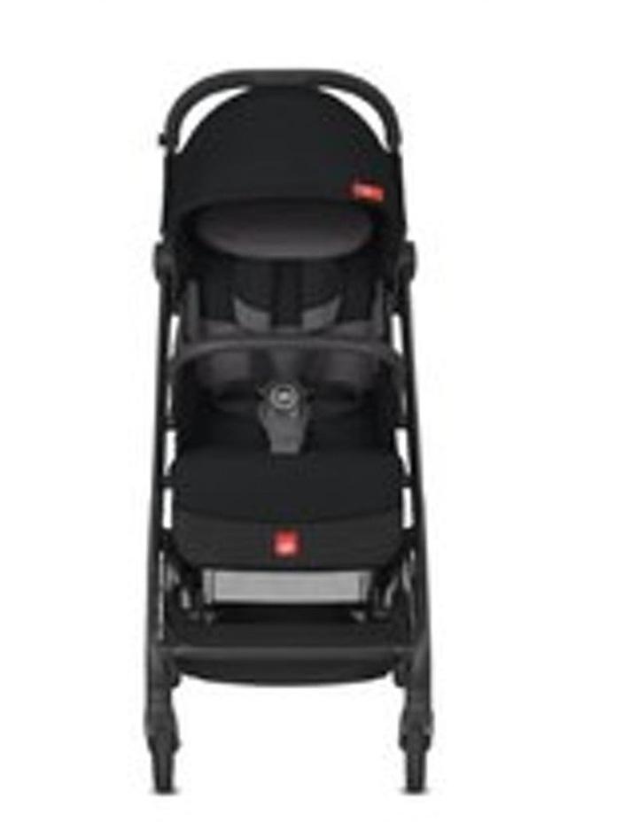 Qbit Plus All-City Stroller. Velvet Black image 2