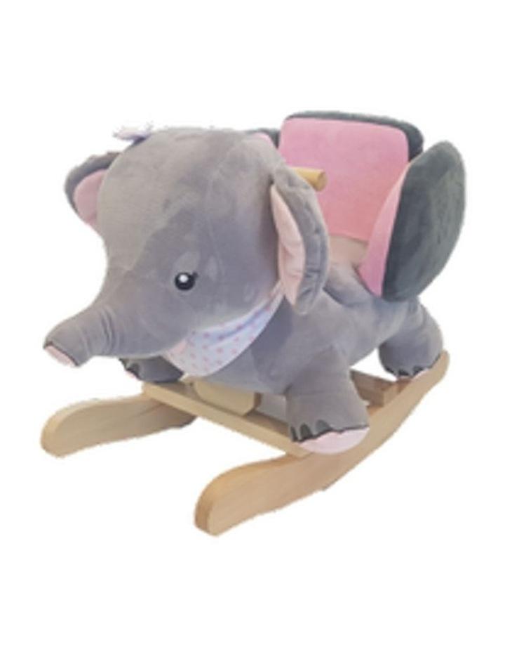 Elephant Rocker. Pink image 1