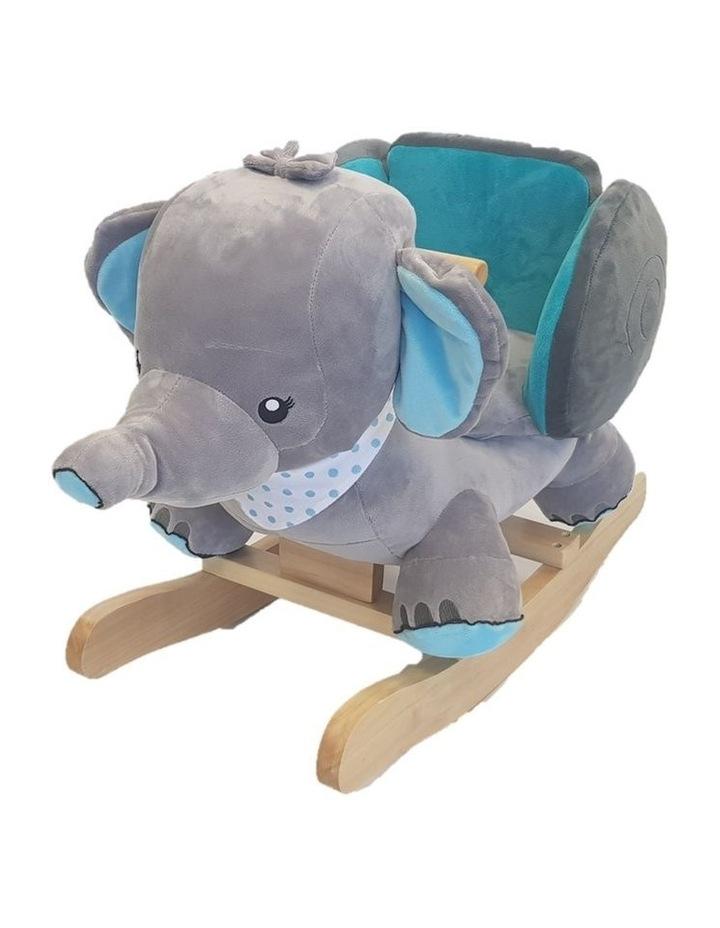 Elephant Rocker. Blue image 1