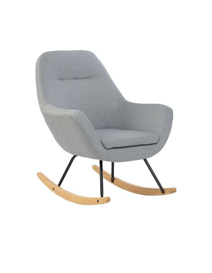 Anya Rocking Chair Grey image 1