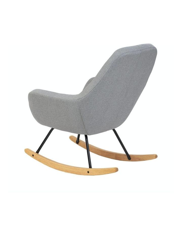 Anya Rocking Chair Grey image 2