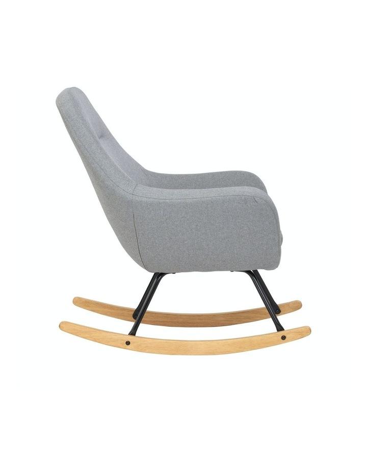 Anya Rocking Chair Grey image 4