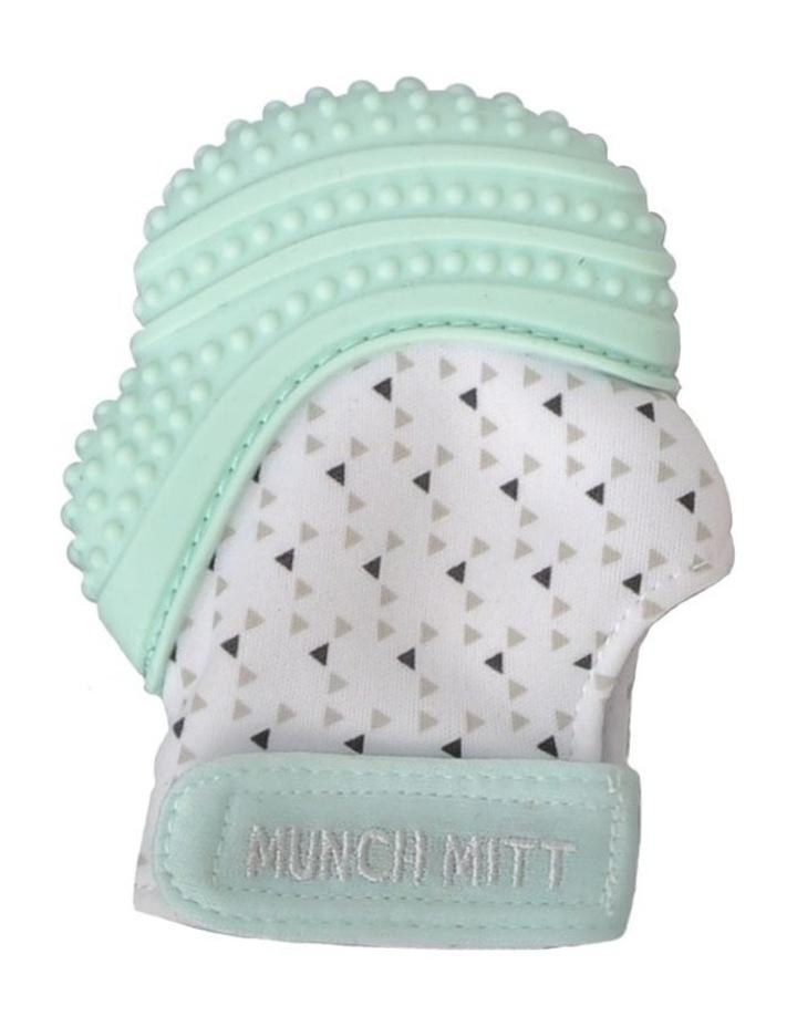 Munch Mitt Teething Mitten Mint Green image 1