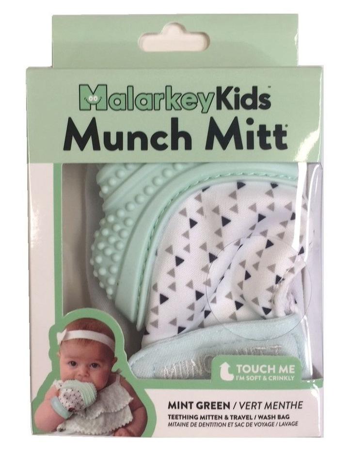 Munch Mitt Teething Mitten Mint Green image 2