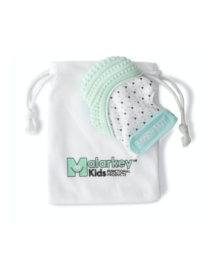 Munch Mitt Teething Mitten Mint Green image 4