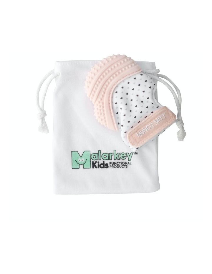 Munch Mitt Teething Mitten Pastel Pink image 2