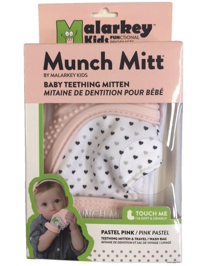Munch Mitt Teething Mitten Pastel Pink image 4