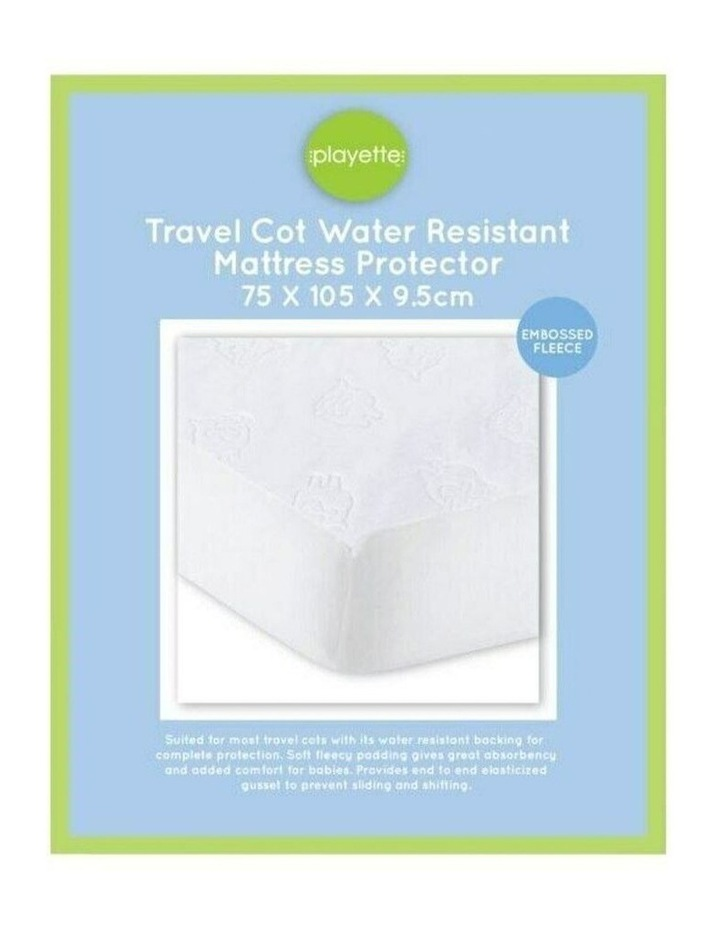 Travel Cot Water Resistant Pad image 1