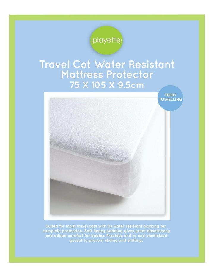 Terry Towelling Mattress Protector image 1