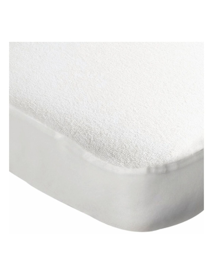 Terry Towelling Mattress Protector image 2
