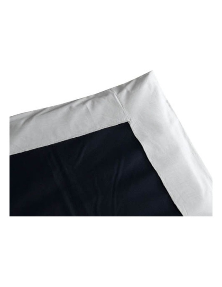 Travel Cot Fitted Sheet Blue image 3
