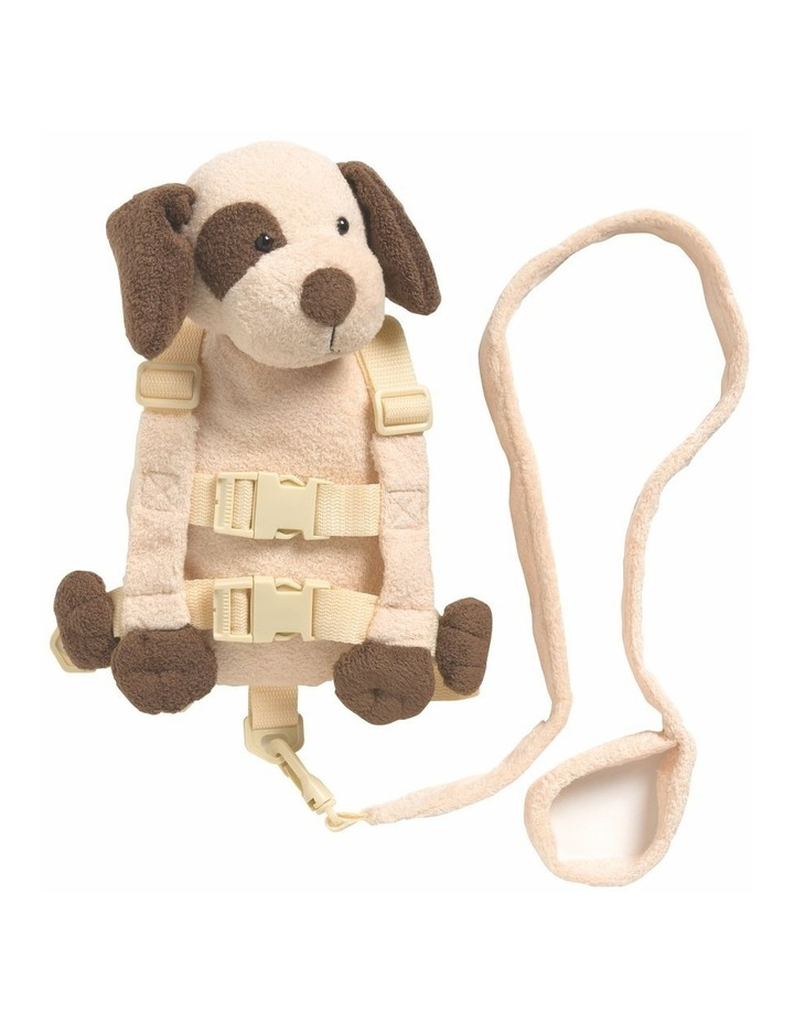 2 in 1 Harness Buddy Tan Puppy image 1