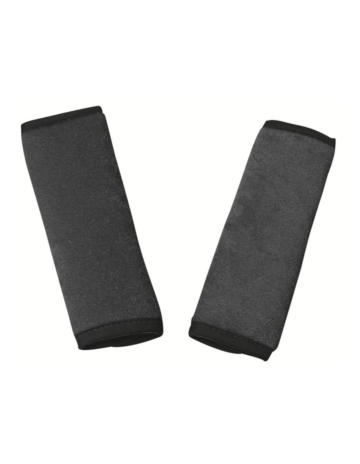 Reversible Car Seat Strap Covers Charcoal image 1