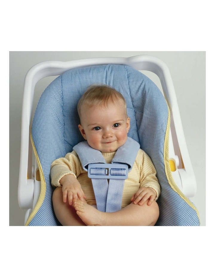 Reversible Car Seat Strap Covers Charcoal image 2