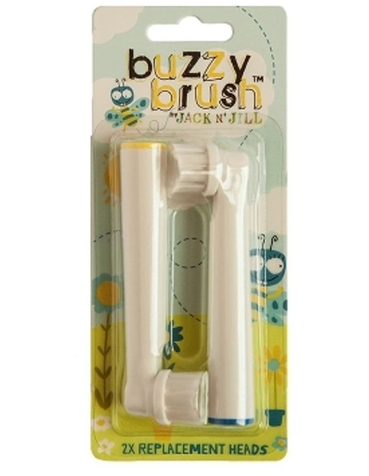 Buzzy Brush Replac Head 2pk image 1