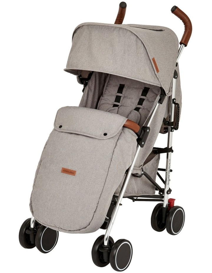 Ickle Bubba Discovery Stroller - Max Model (Upgrade including Footmuff & Cup Holder) image 1